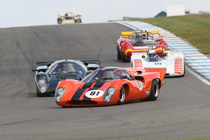 Donington Park gets new Masters Historic Festival for 2019 season