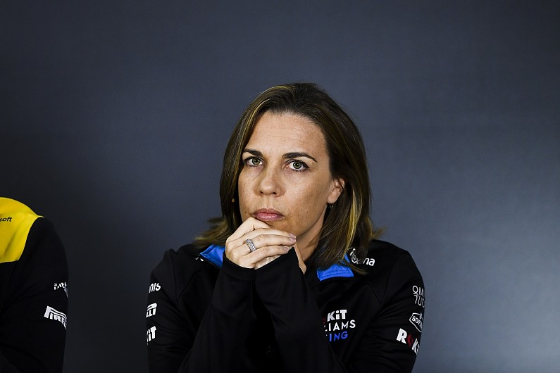 Claire Williams Adamant Formula 1 Team Is Not For Sale F1 Autosport