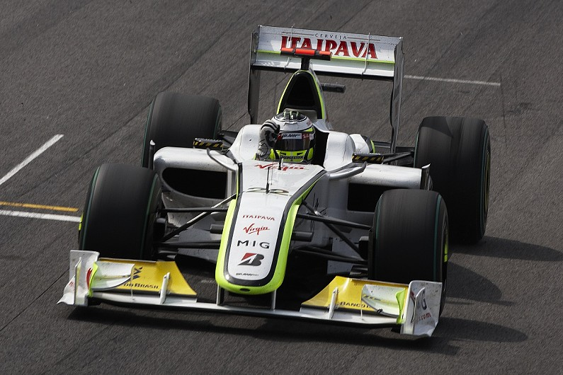Jenson Button's title-winning Brawn F1 car joins Goodwood ...