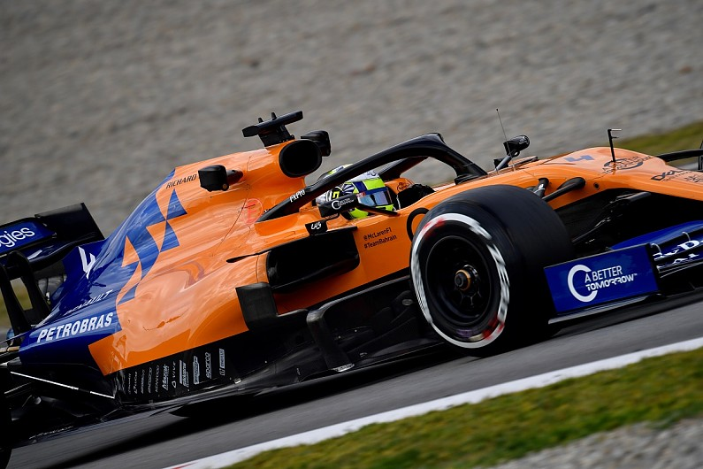 lando norris: 2019 mclaren f1 car totally different to '18 machine