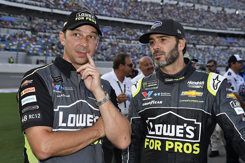 Jimmie Johnson splits with Hendrick NASCAR crew chief Chad Knaus
