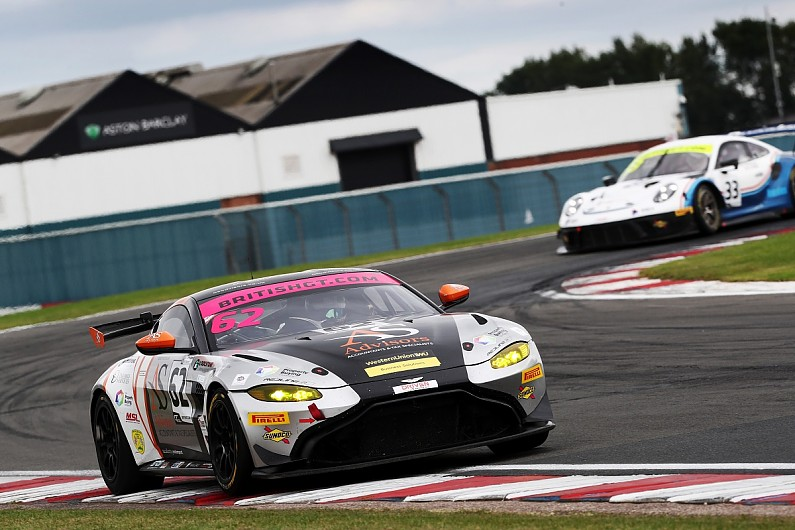 """Promoted: """"Best drive"""" for Toth-Jones at British GT finale"""