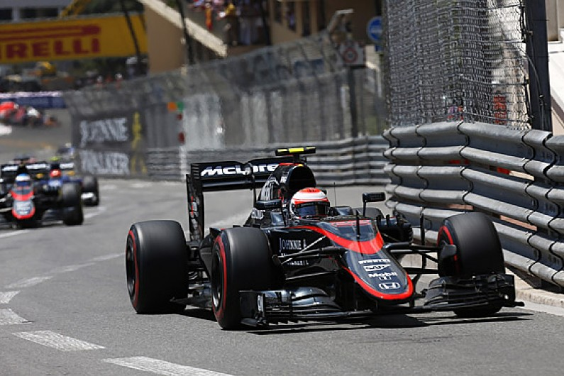 jenson button proud of first mclaren 2015 f1 points in monaco gp