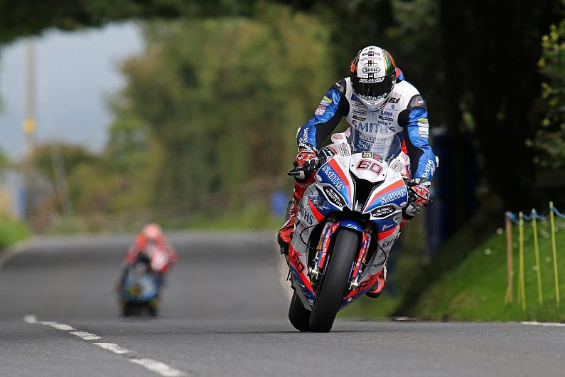 Hickman tops rain-interrupted first day of Ulster GP running