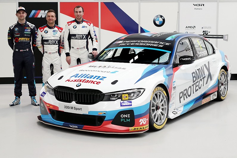 Wsr Builds Its Three New Bmws Just In Time For Btcc Pre Season Test