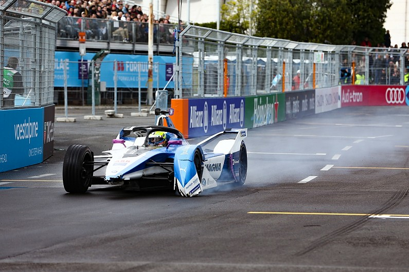 BMW: Sims having 'baptism of fire' in rookie Formula E season