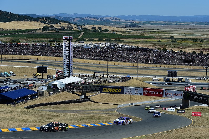 Sonoma NASCAR: Kevin Harvick leads Stewart-Haas Ford one-two