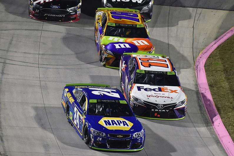 Denny Hamlin calls Chase Elliott clash part of NASCAR