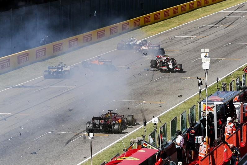 Steiner: F1 should consider NASCAR-style 'restart zone' to avoid Mugello repeat - Motor Informed
