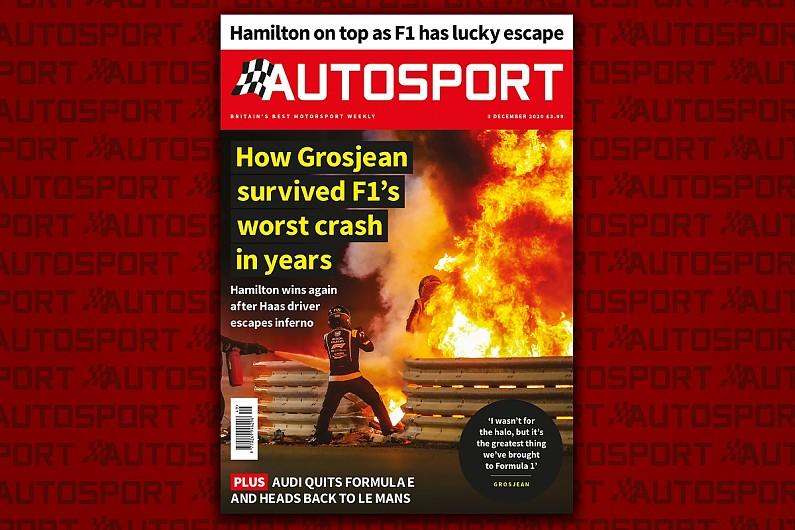 Magazine: Grosjean's miraculous escape and F1 Bahrain GP review