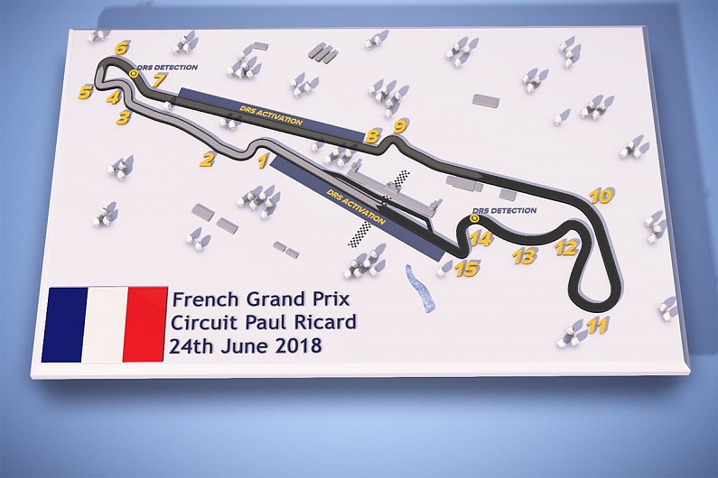 Paul Ricard Circuit To Feature Two Drs Zones For F1 French Gp F1 News Autosport