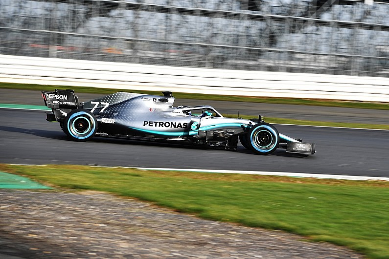 Video: Mercedes isn't playing games with its 2019 Formula 1 car - F1