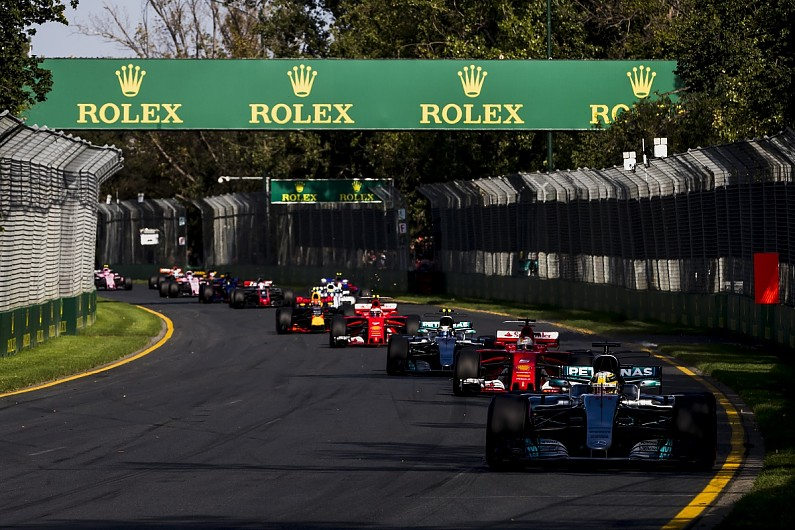 Australian Grand Prix considered major Formula 1 circuit changes