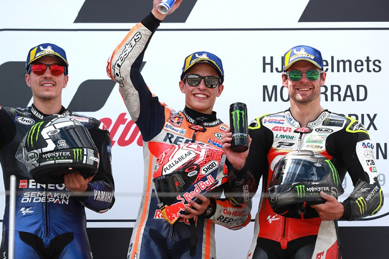 "MotoGP title race finished ""four races ago"" - Crutchlow"