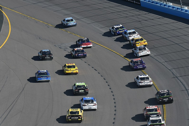 Kevin Harvick Tried To Find Safe Spot In Nascar Phoenix Chaos