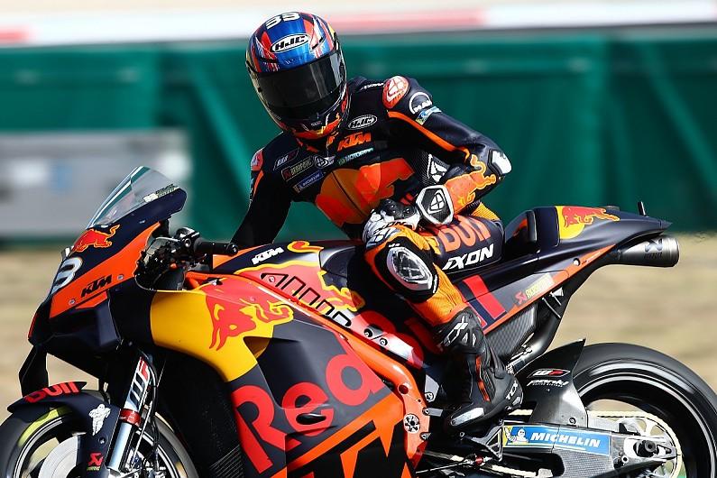 "Espargaro's practice crash result of a MotoGP tyre he ""cannot use"" - Motor Informed"