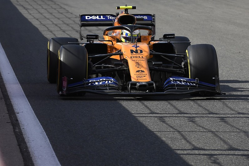 Norris says even F1 drivers take level of safety
