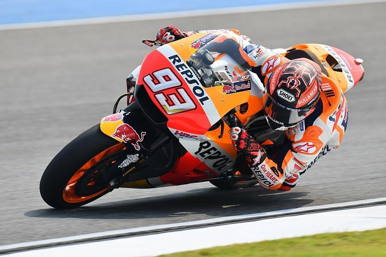 Buriram MotoGP test: Honda's Marc Marquez ends day two on top - MotoGP - Autosport