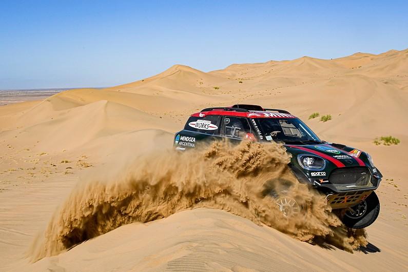 Dakar Rally 2020: Mini's Terranova takes lead, Alonso stuck on stage