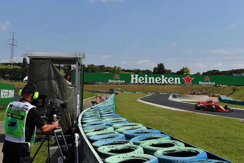 La Fórmula 1 quiere cambiar los ángulos de cámara para sus transmisiones en 2019