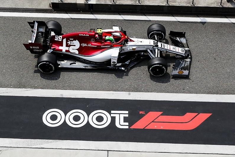 Giovinazzi tuvo el mismo problema que afectó a Leclerc en Bahrain