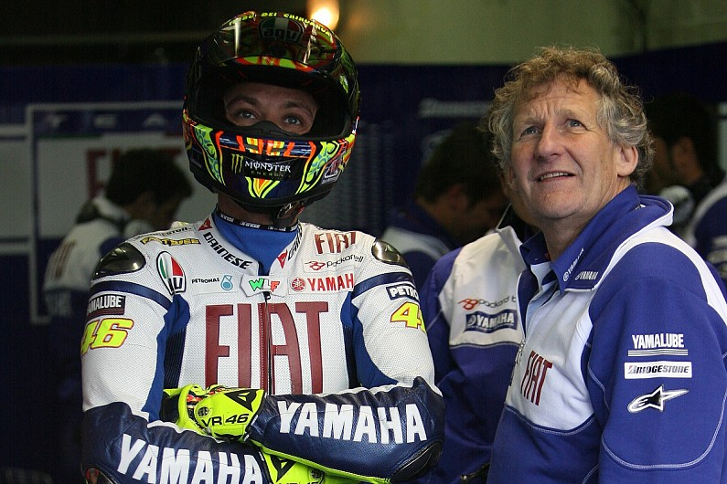 Valentino Rossi's old crew chief Jeremy Burgess says he's stayed on too long