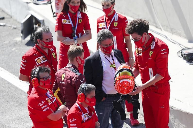 "Ferrari F1 team stuck ""in a role"", says CEO Camilleri - Motor Informed"