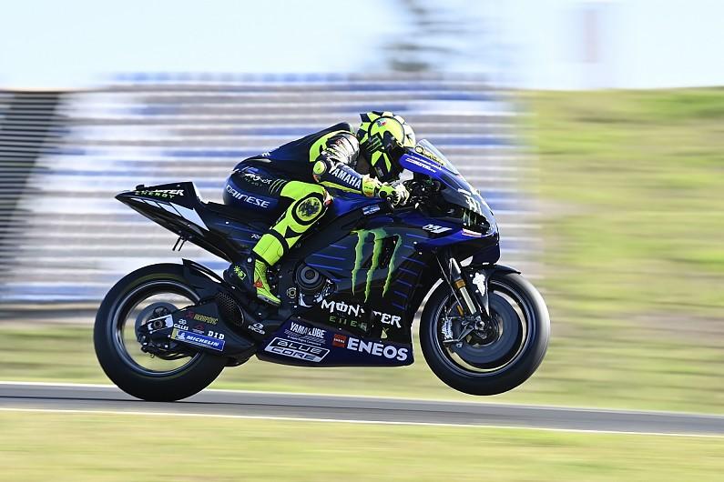 Rossi explains miserable MotoGP Portimao Friday after FP2 crash - Motor Informed