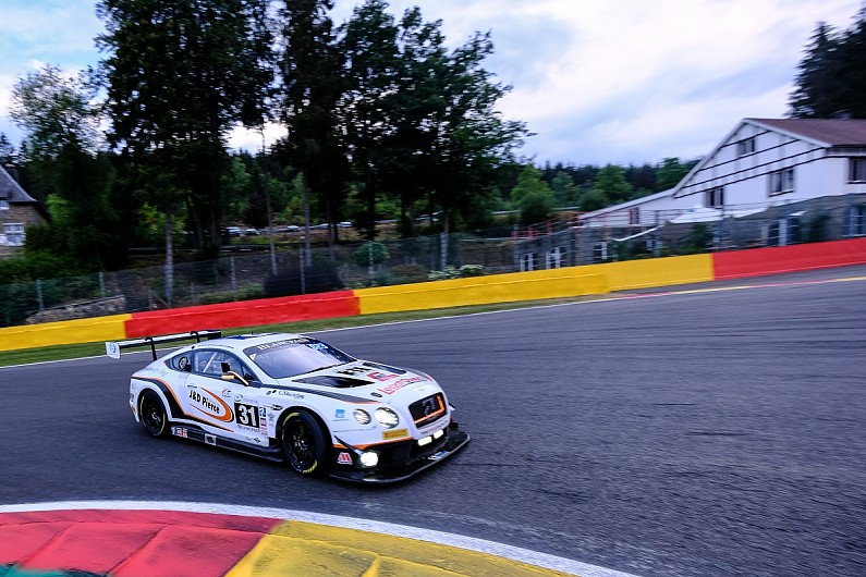 Former Bentley driver Meyrick returns to Spa for Blancpain GT