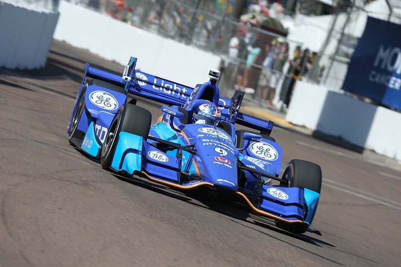 IndyCar St Petersburg: Scott Dixon tops practice two from Will Power ...