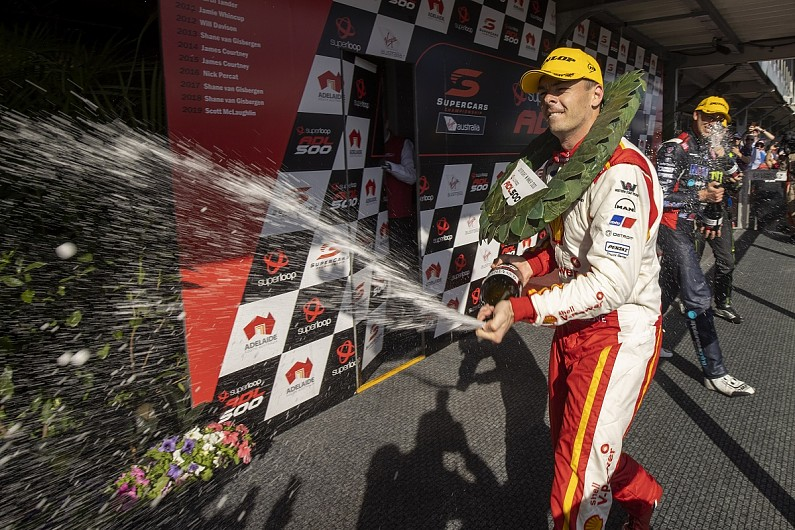 Adelaide Supercars: McLaughlin wins after Triple Eight pit error