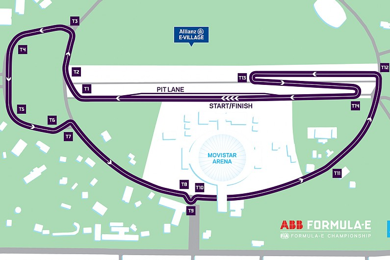 Formula E reveals new track location for Santiago's 2018/19 race - Formula E - A...