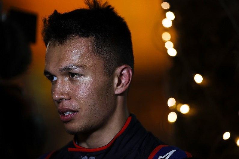 Toro Rosso's Alexander Albon advised not to care about F1 pressure