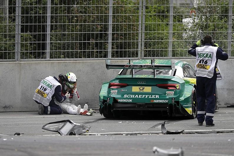 Dtm Norisring Crash