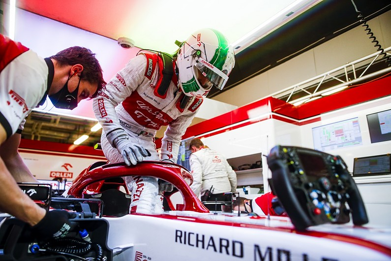 Alfa F1 boss wants Giovinazzi to be more of team leader in 2021