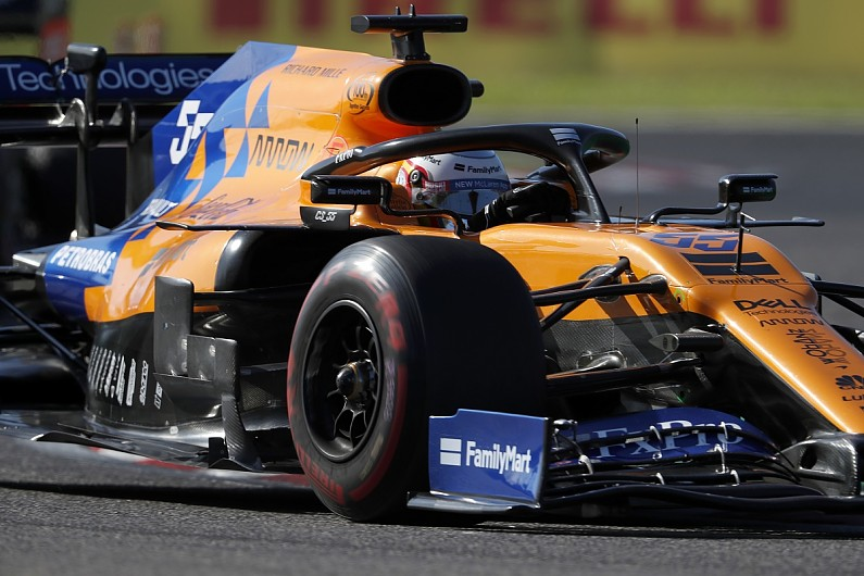Sainz: McLaren was so fast in Japanese GP Ferrari/Leclerc gave up
