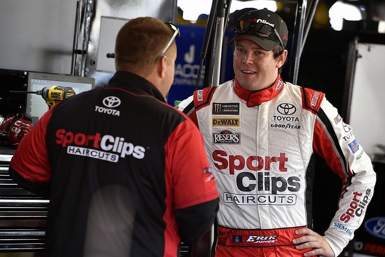 Erik Jones signs new NASCAR Cup Series deal with Joe Gibbs Racing