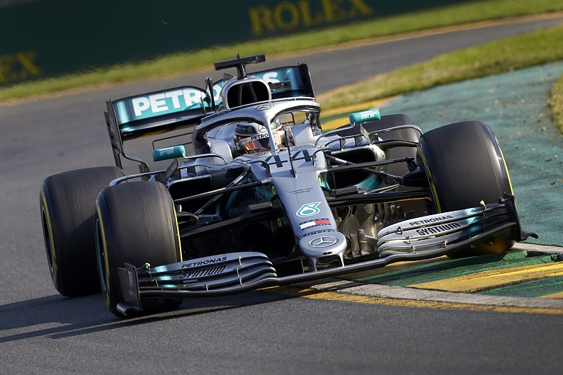 Hamilton: 2019 best year given Mercedes started with heap of F1 car