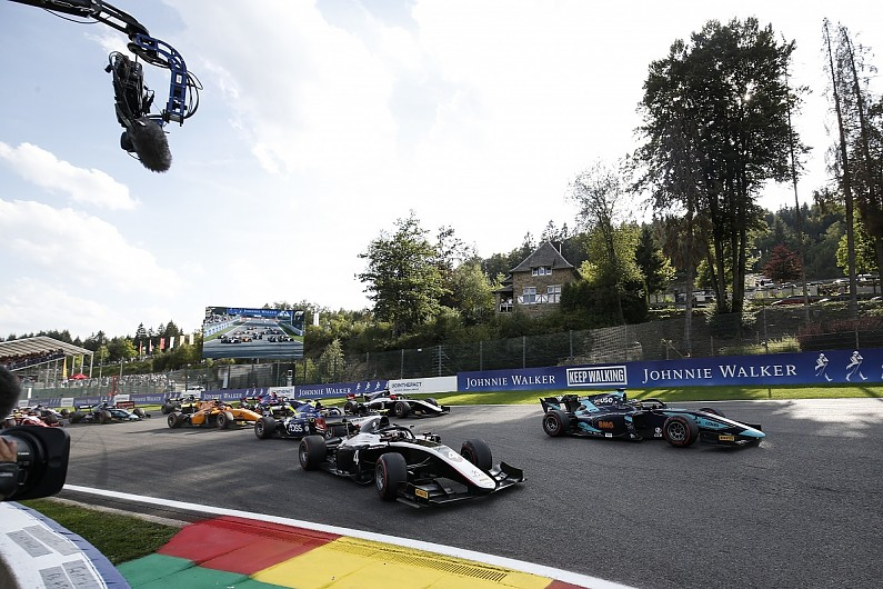 F2 Spa: Feature race cancelled after serious accident