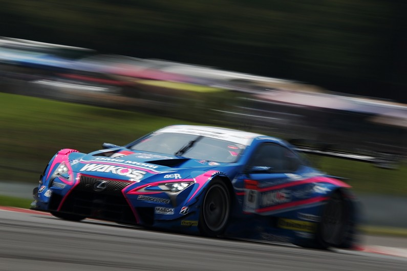Fuji SUPER GT: LeMans Lexus wins 500-mile race from 11th on grid