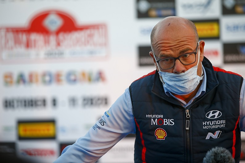 Hyundai boss Adamo explains Sordo's Rally Monza selection over Breen - Motor Informed
