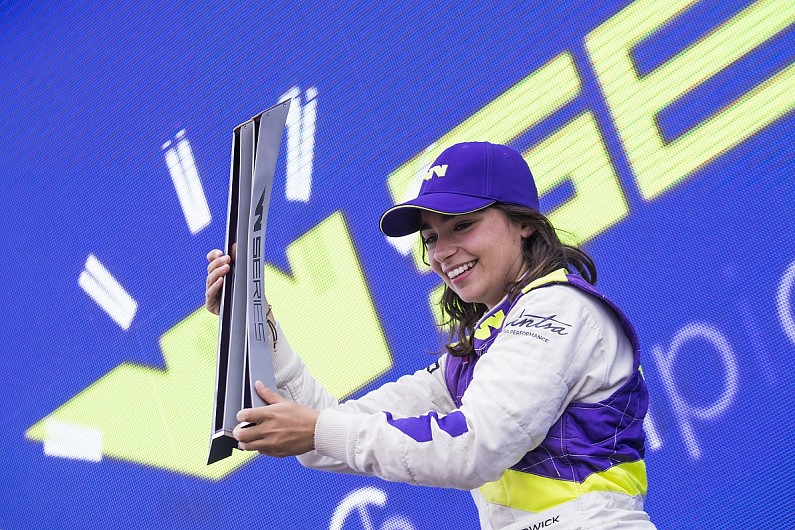 W Series' 2020 champion can't defend her title in '21