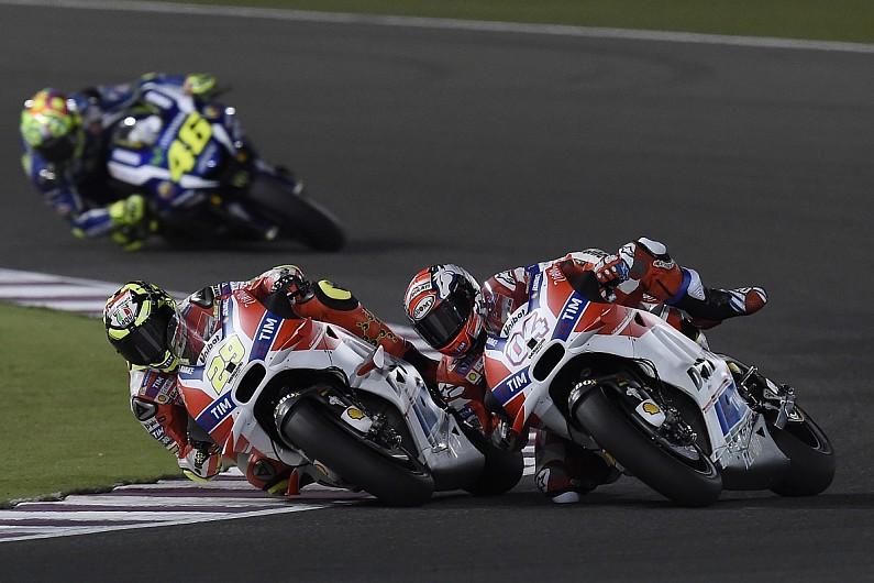 Iannone puzzled by crash that cost Ducati Qatar MotoGP victory bid - MotoGP - Autosport