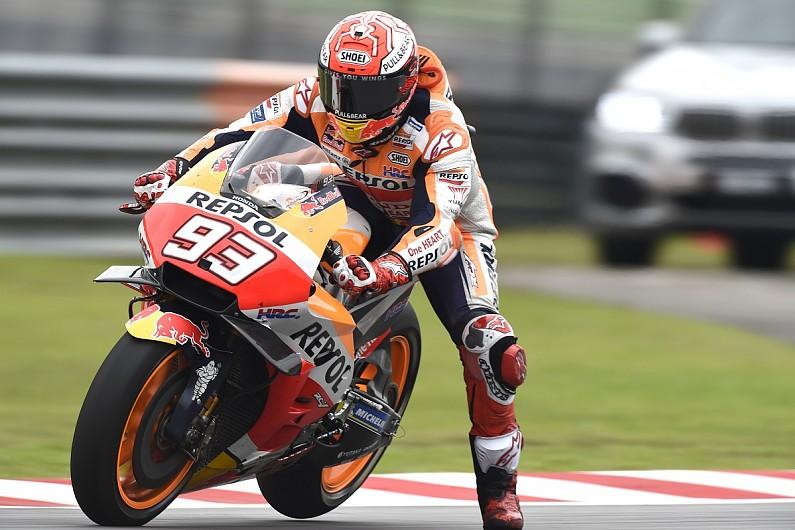Sepang Motogp Marc Marquez Wins After Valentino Rossi Crashes