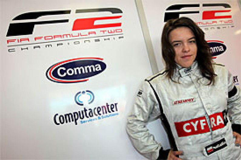 Kowalska confirms F2 return - F2 - Autosport