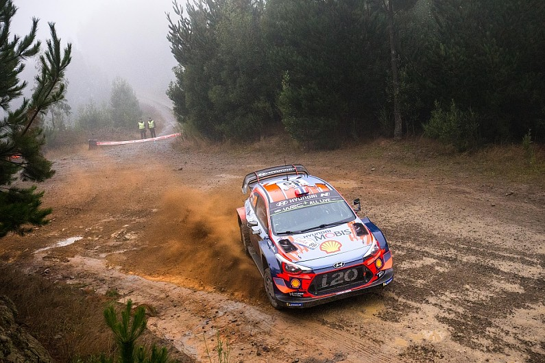 WRC Rally Chile: Andreas Mikkelsen leads shakedown for Hyundai