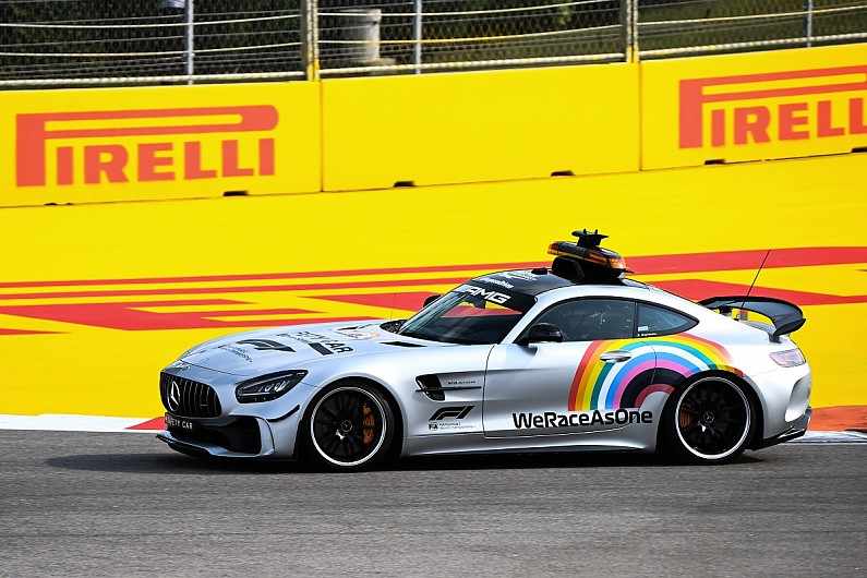 F1 drops rainbow branding in updated We Race As One initiative | F1 News