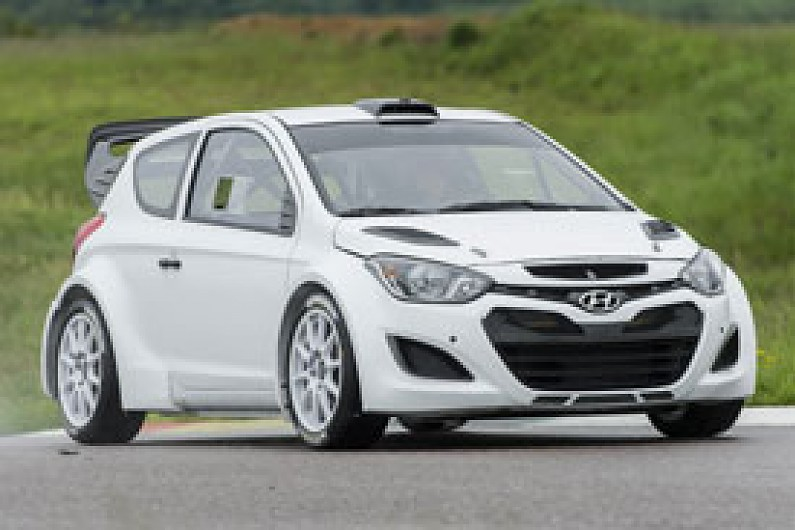 Hyundai Completes First Significant Test Of 2014 Spec I20 Wrc Wrc