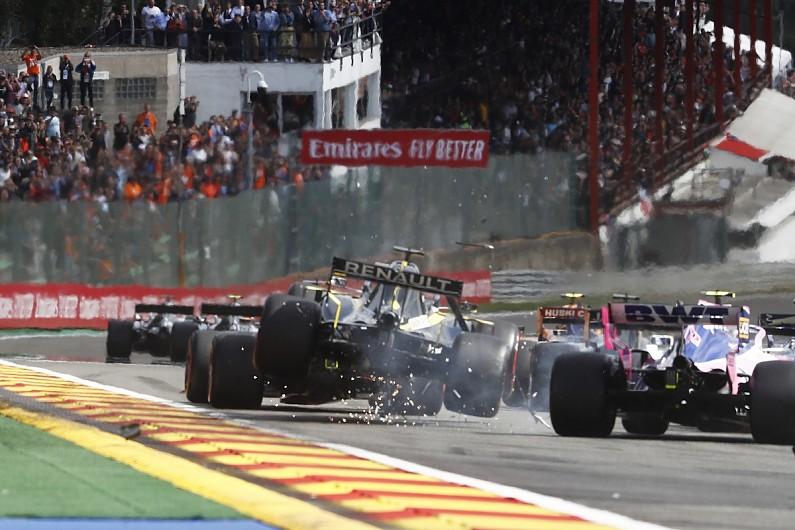 """Scary"" 14th at Spa Ricciardo's best Formula 1 drive of 2019"