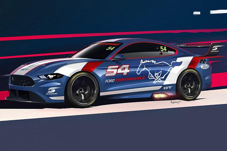 ford-performance-offers-first-teaser-image-of-supercars-mustang-supercars-autosport